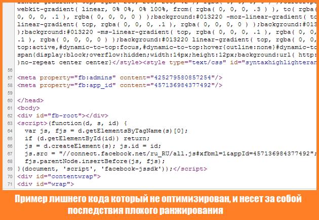 Вредоносный html код
